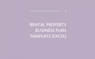Rental Property Business Plan Template [Excel]